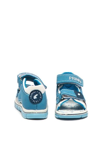 Primigi Sandale din material textil si piele nabuc, cu velcro Baieti