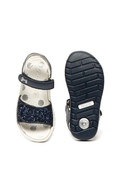 Primigi Sandale de piele ecologica, cu insertii stralucitoare Fete