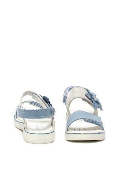 Primigi Sandale de piele si piele ecologica, cu aplicatii florale Fete