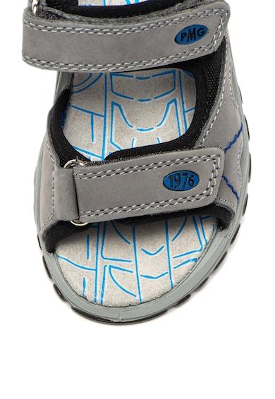 Primigi Sandale de piele nabuc, cu velcro si amortizare Baieti