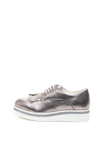Zee Lane Pantofi casual wedge de piele Femei