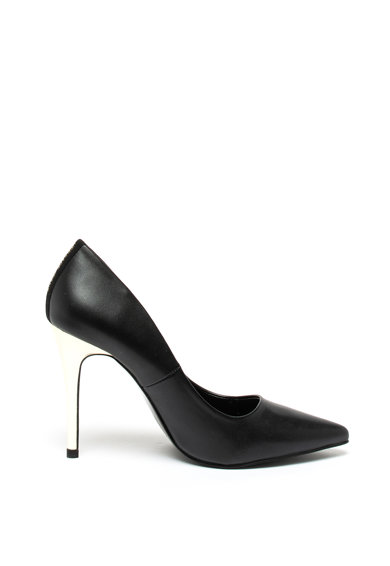 Versace Jeans Pantofi de piele ecologica, cu varf ascutit Femei