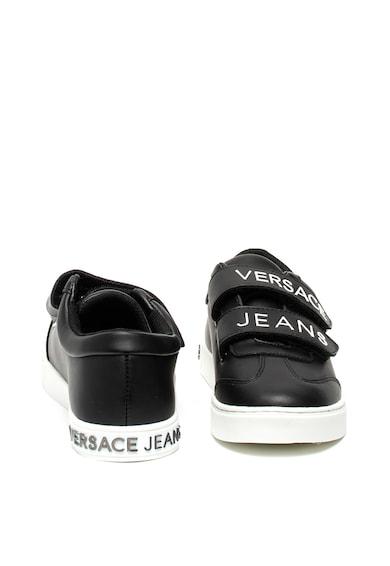 Versace Jeans Pantofi sport cu garnituri de piele Femei