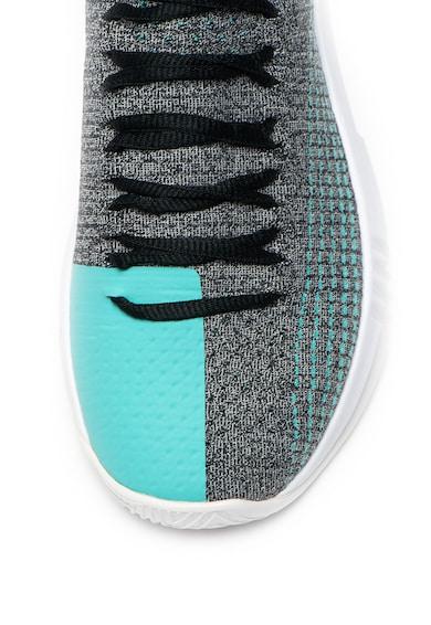 Under Armour Pantofi slip-on cu aspect tricotat, pentru baschet Heat Seeker Barbati
