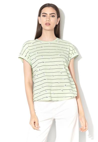 Vero Moda Tricou lejer din bumbac organic Sally Femei