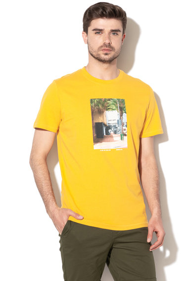Jack&Jones Тениска Theo с фотощампа Мъже