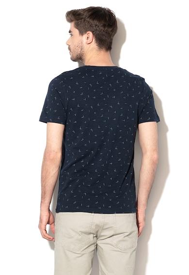 Selected Homme Памучна тениска Oliver с шарка Мъже