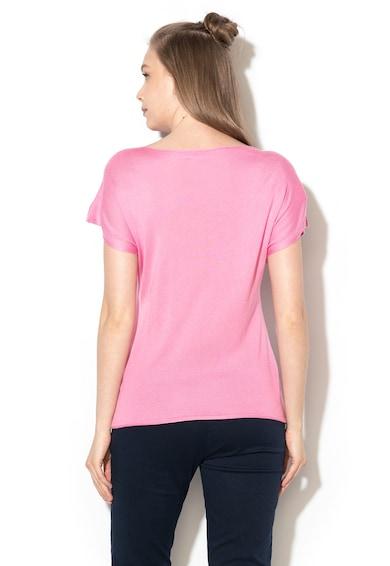 United Colors of Benetton Bluza lejera cu perforatii Femei