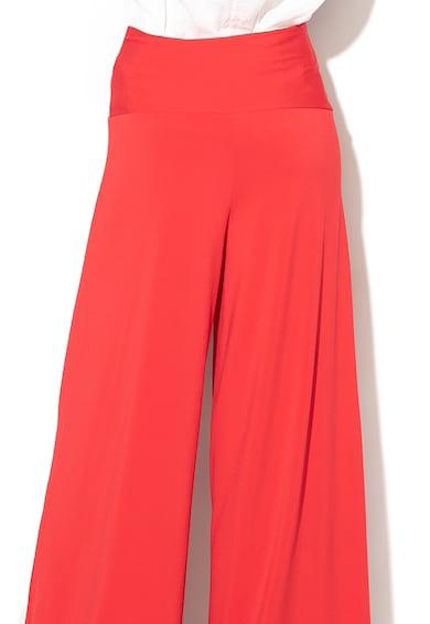 United Colors of Benetton Pantaloni cu talie inalta si croiala ampla Femei