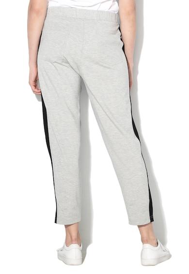 United Colors of Benetton Pantaloni cu garnituri laterale contrastante Femei