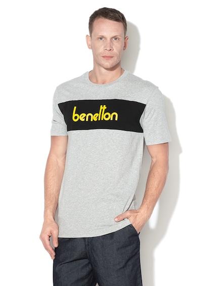 United Colors of Benetton Tricou cu imprimeu logo 04 Barbati