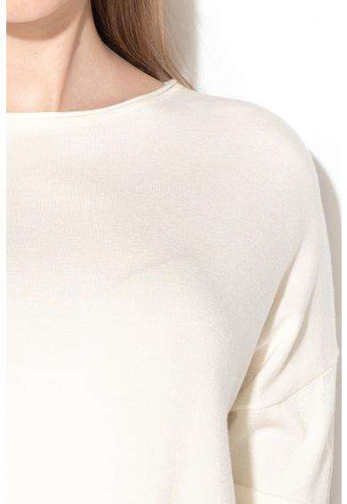 United Colors of Benetton Pulover din tricot fin cu buzunare aplicate Femei