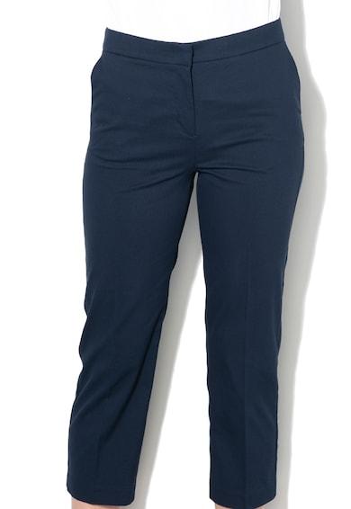 Sisley Pantaloni crop cu croiala conica Femei