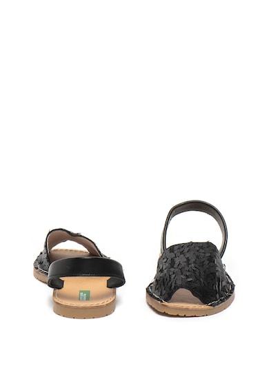 Undercolors of Benetton Sandale cu talpa plata si paiete Femei