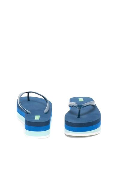 Undercolors of Benetton Papuci flip-flop flatform Femei