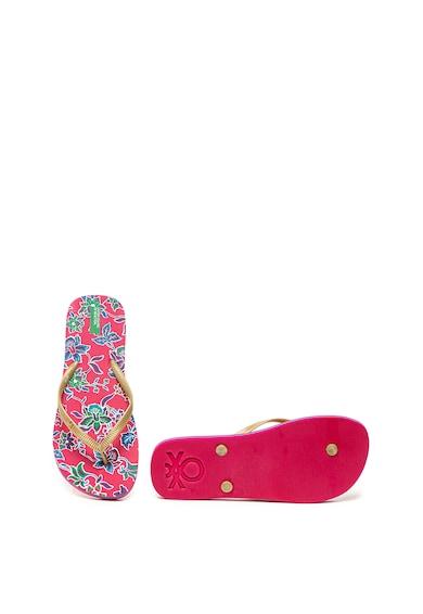 Undercolors of Benetton Papuci flip-flop cu model floral Femei