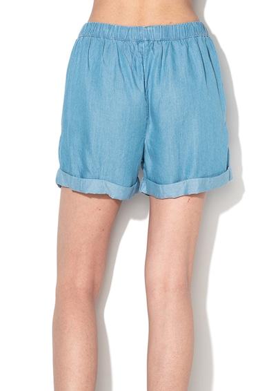Undercolors of Benetton Pantaloni scurti de plaja din chambray cu terminatii rasucite Femei