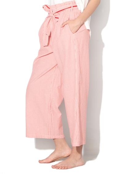 Undercolors of Benetton Pantaloni de plaja cu croiala ampla si model in dungi Femei