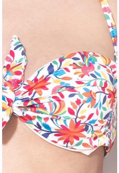 Undercolors of Benetton Sutien clasic de baie cu imprimeu floral Cancun Femei