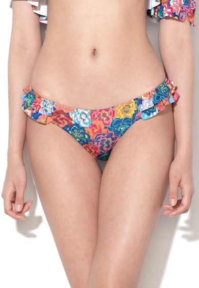 Undercolors of Benetton Slip cu imprimeu floral Femei