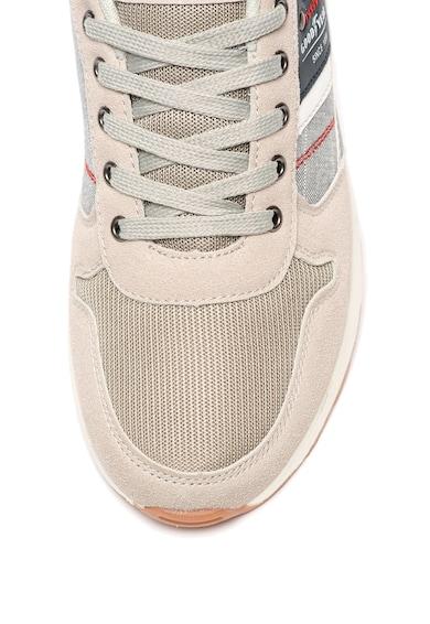 Goodyear Pantofi sport cu garnituri de piele intoarsa ecologica Barbati