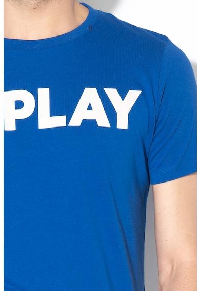 Replay Tricou cu imprimeu logo H Barbati
