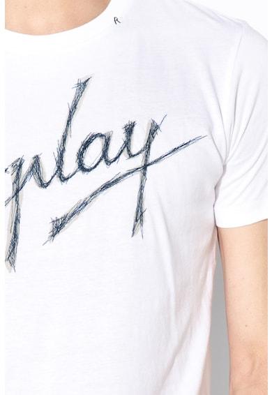 Replay Tricou cu imprimeu logo 2 Barbati
