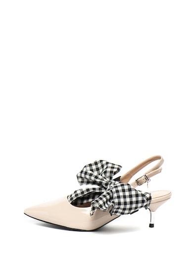 Yamamay Pantofi de piele ecologica cu toc kitten Ibiza Femei