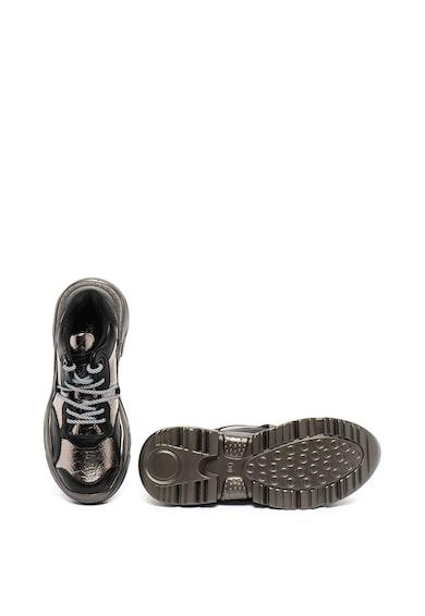 Yamamay Pantofi sport de piele ecologica cu talpa masiva Femei