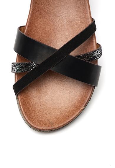 RB DI ROCCOBAROCCO Sandale de piele ecologica, cu bareta pe glezna Nevet Femei