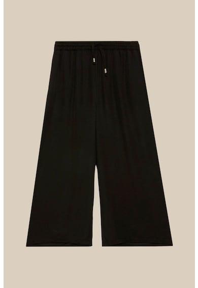 Oltre Pantaloni cullote din material vaporos cu snur Femei