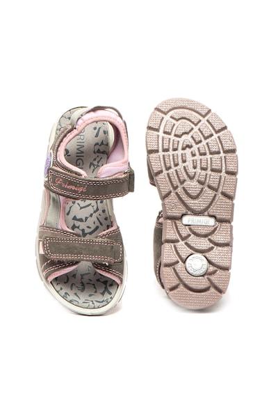 Primigi Sandale de piele intoarsa cu velcro Fete