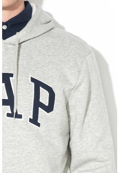 GAP Hanorac cu imprimeu logo si captuseala din fleece Barbati
