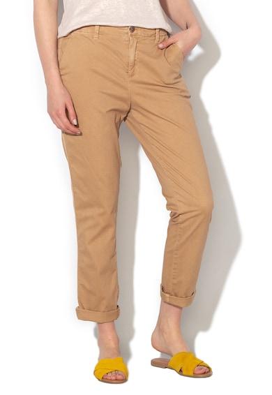 GAP Pantaloni chino cu buzunare oblice si croiala conica Femei