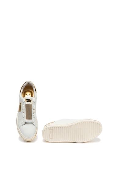 Replay Pantofi sport de piele cu garnituri metalizate Missouri Femei