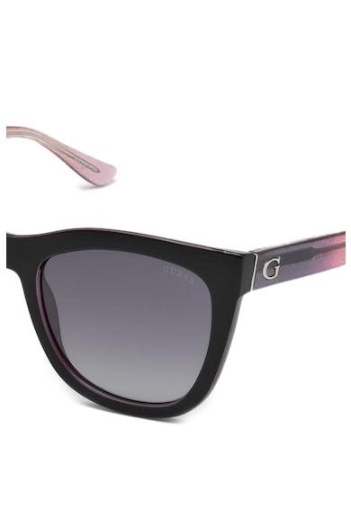 Guess Szögletes napszemüveg logóval női