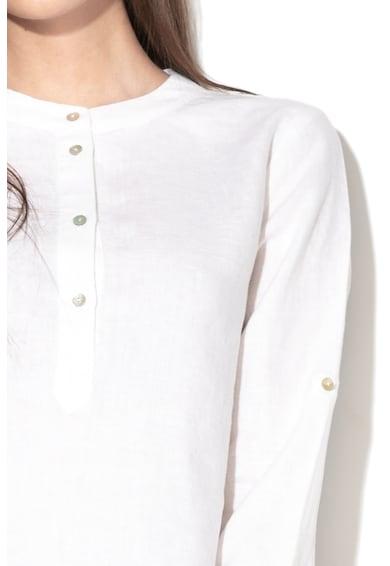 Stefanel Bluza tip tunica din amestec de in Femei