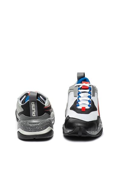Puma Pantofi sport din material textil si piele ecologica Thunder Electric Barbati