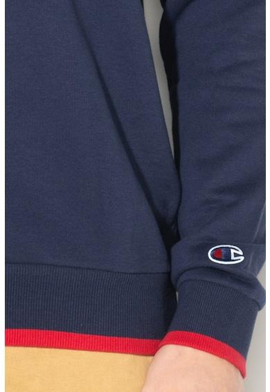 Champion Bluza sport cu decolteu la baza gatului si imprimeu logo Barbati