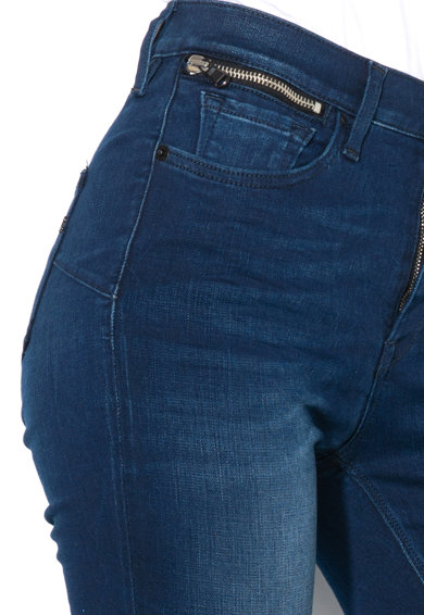 Replay Blugi skinny din material elastic, cu fermoar decorativ Zackie Femei