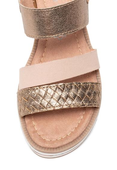 Marco Tozzi Sandale de piele cu barete multiple Femei