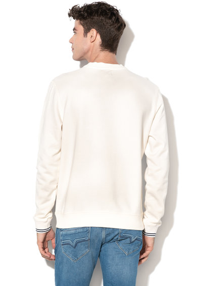Pepe Jeans London Bluza sport cu imprimeu text Shaan Barbati