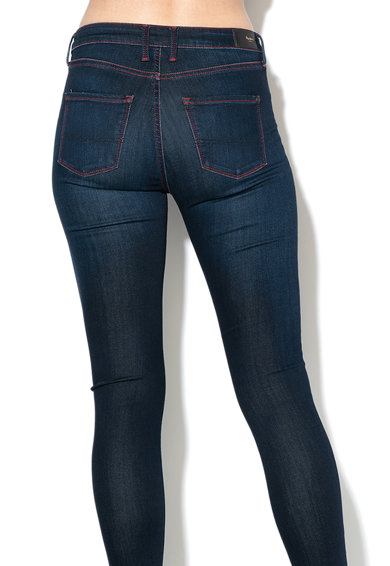 Pepe Jeans London Blugi skinny cu talie inalta Regent Femei