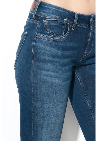 Pepe Jeans London Blugi slim fit cu talie joasa Vera Femei