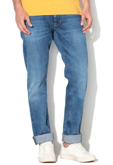 Pepe Jeans London Blugi regular fit cu aspect decolorat Cash Barbati