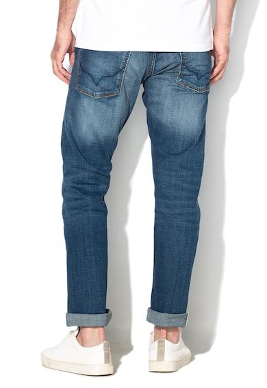 Pepe Jeans London Blugi regular fit cu aspect decolorat Cash Barbati