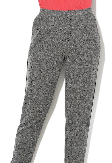 Pepe Jeans London Pantaloni crop conici, cu aspect texturat Linn Femei