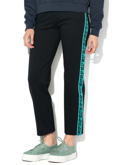 Pepe Jeans London Pantaloni cu detaliu lateral contrastant Rose Femei