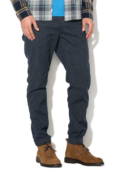 Pepe Jeans London Панталон чино Ancona със стеснен крачол Мъже
