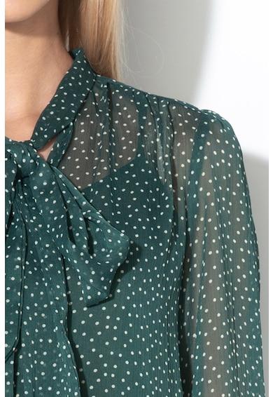 Pepe Jeans London Риза Carmina с панделка и десен на точки Жени